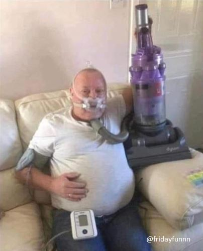 First patient to use the new Dyson ventilator is doing well! 😀
