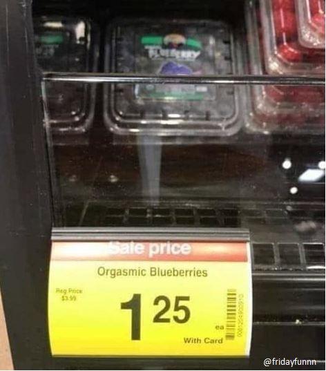 Got you some fruit darling! 😀
