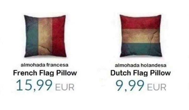 Think I'd go Dutch! 😀