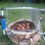 Bought a BBQ at Tesco today. Only cost a quid! 😀