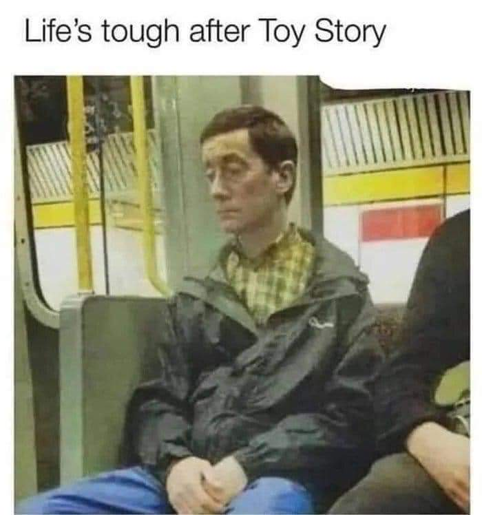 Poor old Woody! 😀