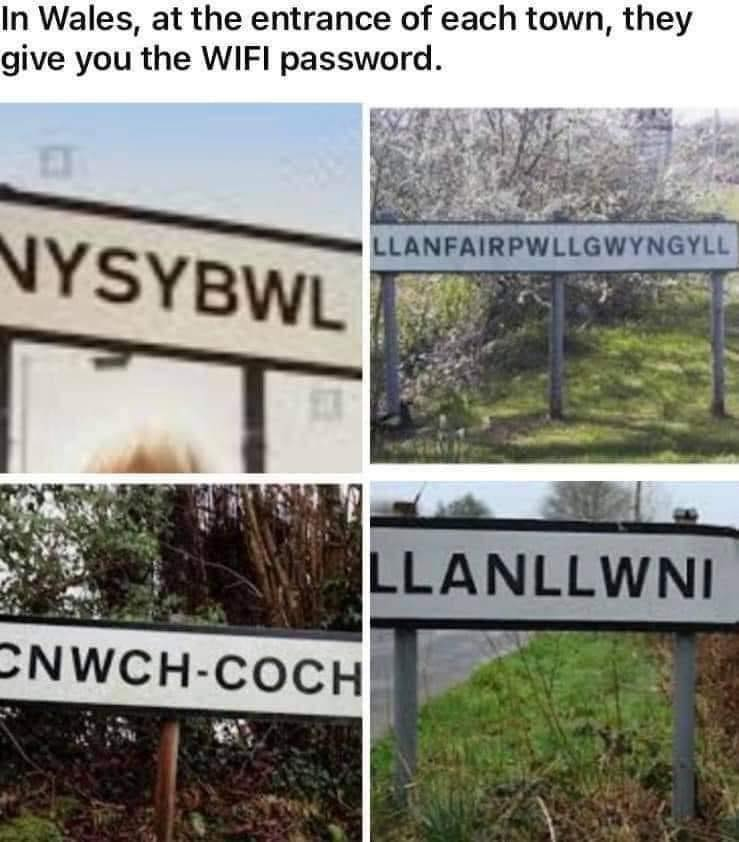 Welcome to Wales - get online now! 😀