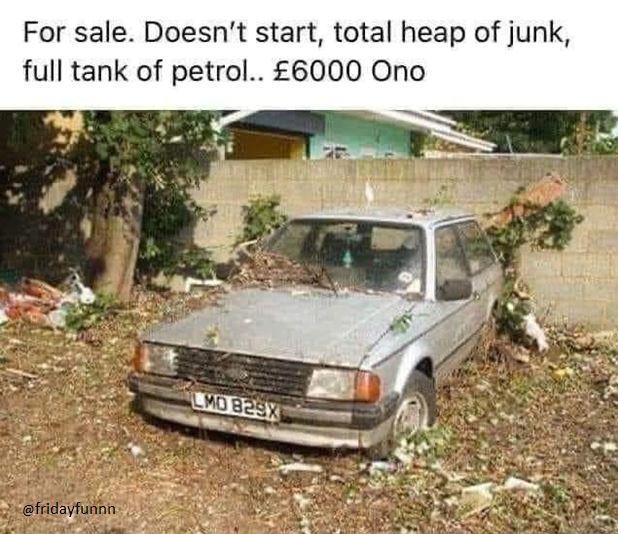 Bargain petrol! 😊